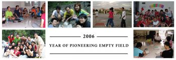 2006 Year of Pioneering Empty Field
