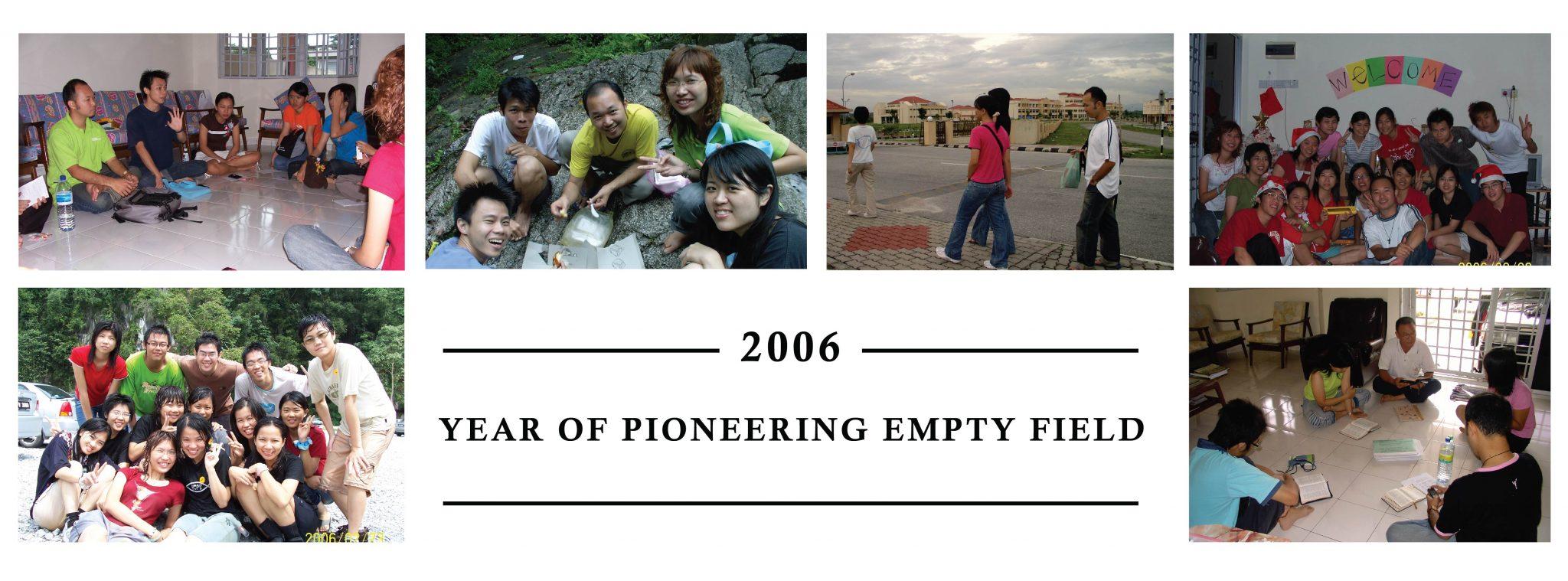 2006 Year of Pioneering Empty Field